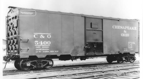 C&O Box Car