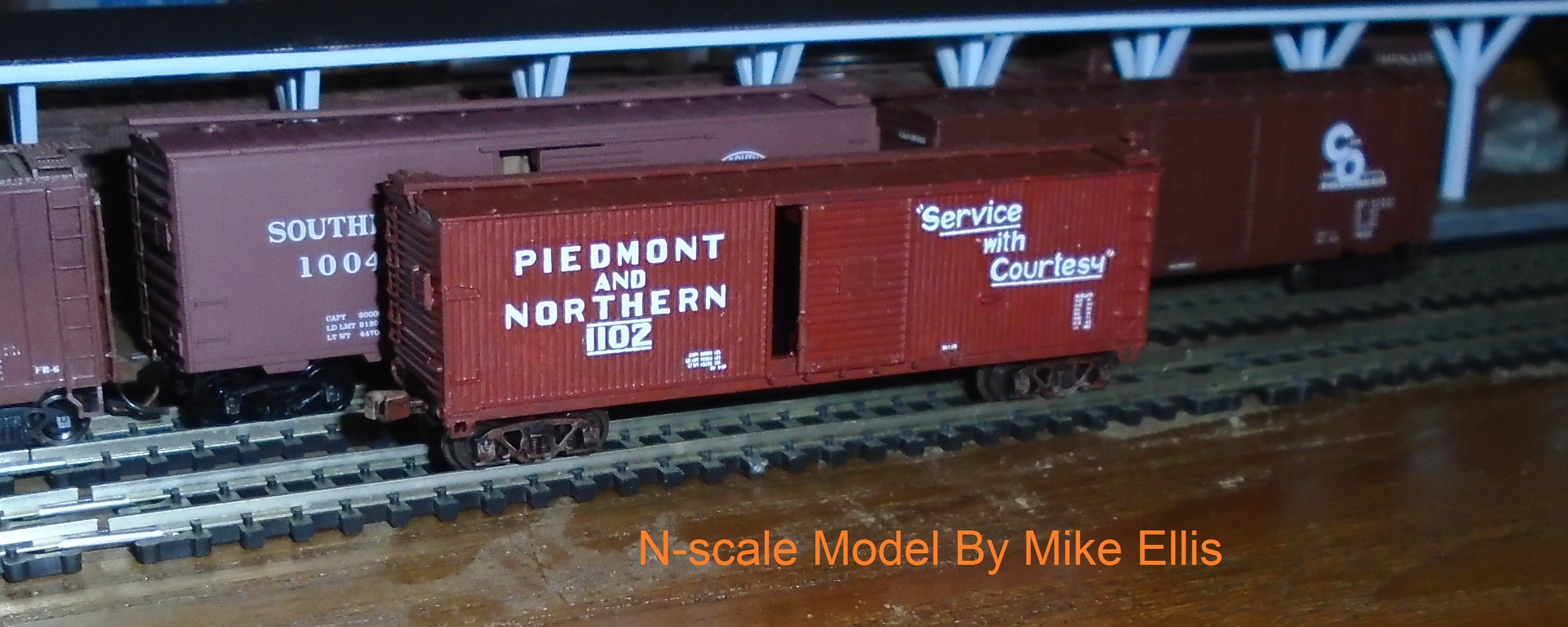 Model Railroad Decals for mostly Piedmont Railroads